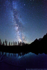 "Stars, Milky Way, String Lake, Grand Teton NP (IronRodArt - Royce Bair (""Star Shooter"")) Tags: blue trees sky lake reflection nature silhouette mystery night forest dark way stars evening nationalpark bravo shiny long exposure heaven glow shine time dusk infinity space horizon deep grand twinkle astro sparkle galaxy astrophotography planet astronomy grandtetons teton universe milky cosmic starry cosmos astrology distant milkyway starlight wondersofnature stringlake starrynightsky"