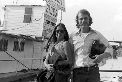 Memphis Queen Line - Jake and Kathy Meanley 1974 (1) by joespake