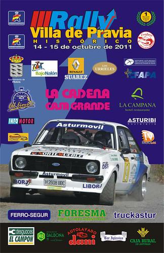 III Rallye Villa de Pravia Histórico 2011