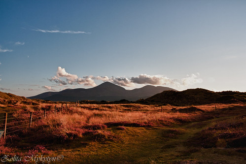 Mountains of Mourne at Sunset by xxx zos xxx