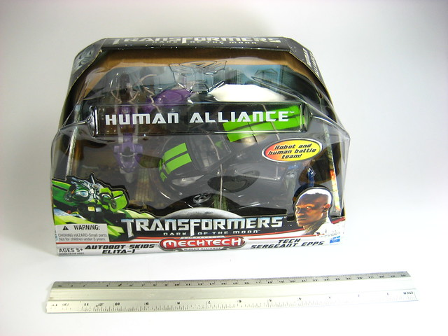 Human Alliance: Autobot Skids, Elita 1, Epps