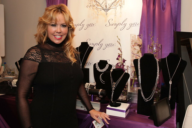 Mary Murphy checks out the goods at Simply You jewellery
