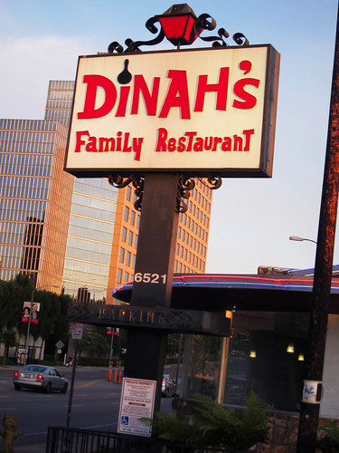 #LA2BAY:  The Night Before Dinner at Dinah's Chicken