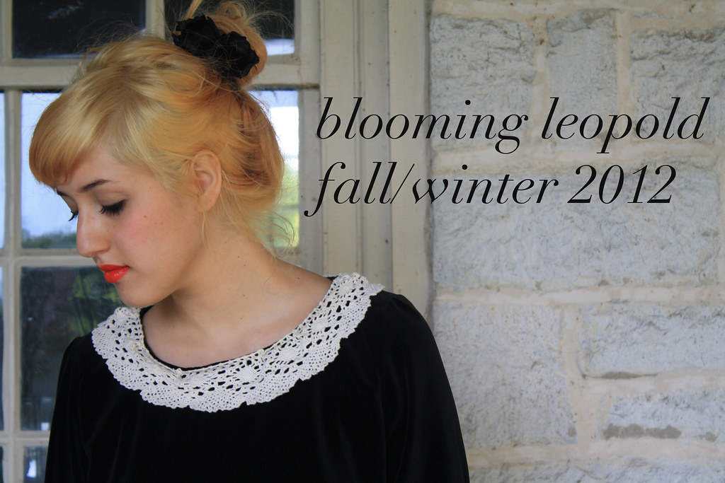 blooming leopold handmade a/w 2012