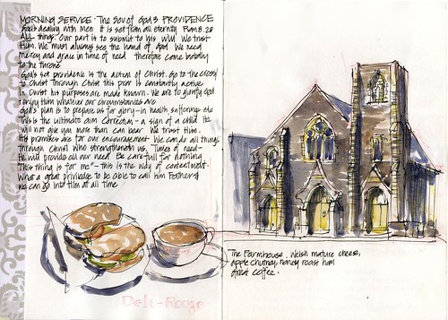 15_thu28 02 Deli Rouge and church sketch