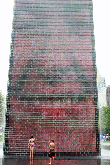 Crown Fountain web
