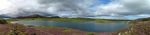Loch Borralie Panorama