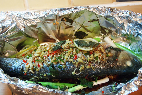 Asian baked fish