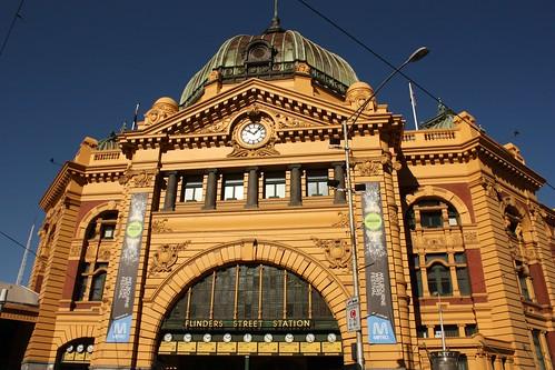 Flinders Street Station, Melbourne - Victoria (Australia)