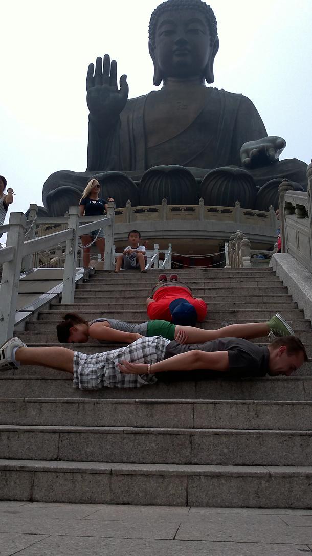 Hong Kong planking