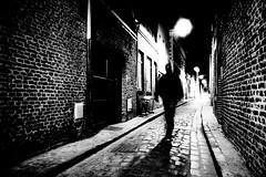 Vieux Lille la nuit, par Franck Vervial