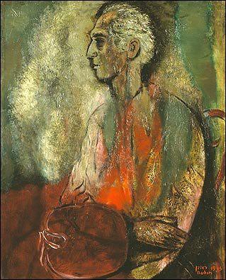 Rubin, Reuven (1893-1974) - 1963 Self-Portrait at Seventy (Rubin Museum, Tel Aviv, Israel)