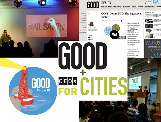 GOOD and CEOs for Cities announce GOOD Ideas for Cities!