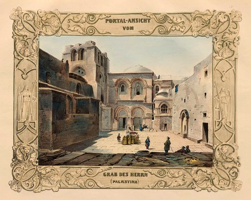 023-Tumba del Señor en Palestina-Malerische Ansichten aus dem Orient-1839-1840- Heinrich von Mayr-© Bayerische Staatsbibliothek