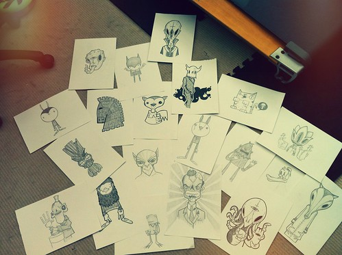 A weeks worth of scribbles. by [rich]