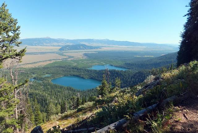 uitzicht op Jackson Hole