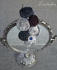 D.rosas tela ART 1 (Teretadas) Tags: handmade diadema headband hechoamano diademas fabricroses accesoriosparaelcabello rosadetela