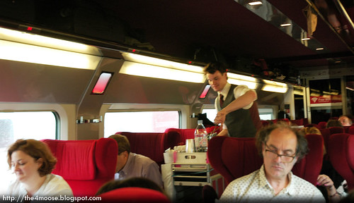 Thalys 9323 - Meal Service