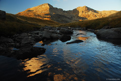 , Rila mountain (.:: Maya ::.) Tags: autumn mountain water sunrise trekking river ivan hut bulgaria rila peaks copy  refection    vazov    mayaeye mayakarkalicheva   kalinite wwwmayaeyecom