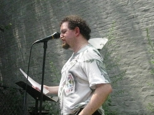Ian Wilder reading at Welcome to Boog City 2011