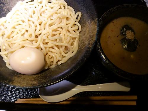 ra110810中川會 つけ麺 並盛 味玉