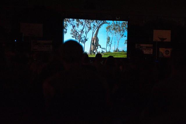 Jurassic Park at McCarren Park