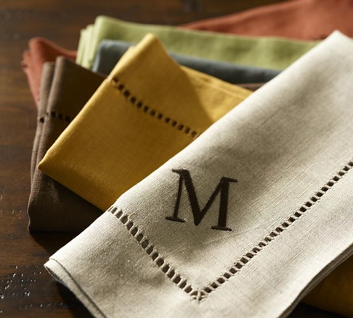 Pottery Barn Napkins