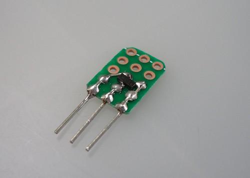 smd transistor for breadboarding