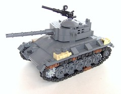 M24 Chaffee (Carpet lego) Tags: lego wwii chaffee m24
