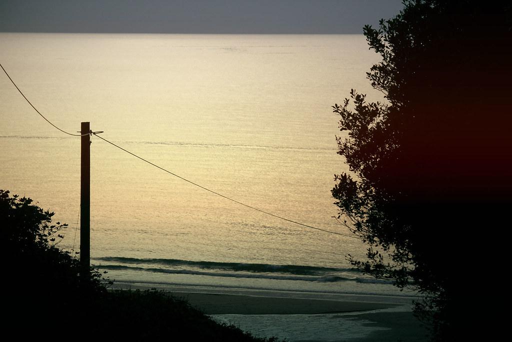 Penbryn beach sunset