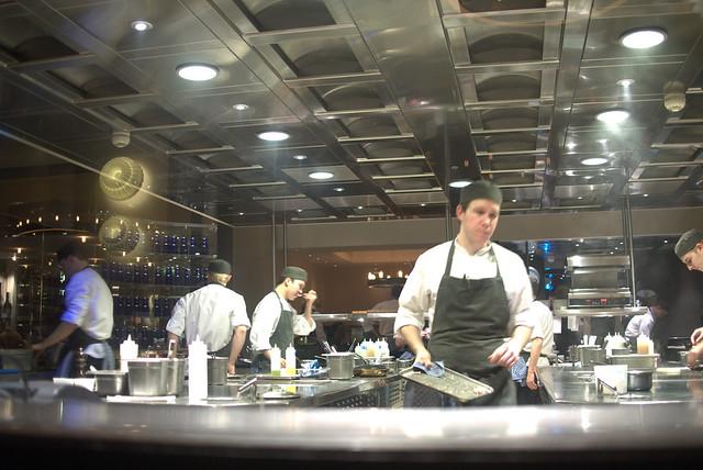 Heston Dinner kitchen