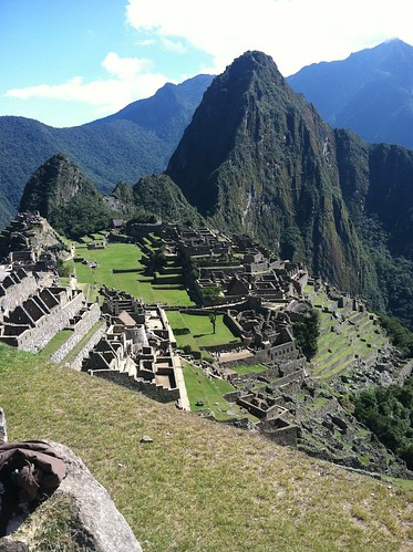 My iPhone photo of Machu Picchu as seen on the way to the Sun Gate