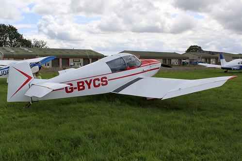 G-BYCS-  Jodel 1051_  Dunkswell