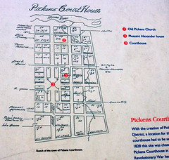 Pickens Court House Map