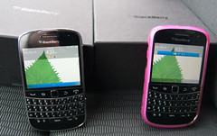 His and Her's (louman26) Tags: blackberry touch 9900 bold