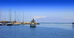 Antofagasta - Botes efecto Topaz Clean (Victorddt) Tags: chile botes mar playa yates sonycybershot norte oceano antofagasta topazclean