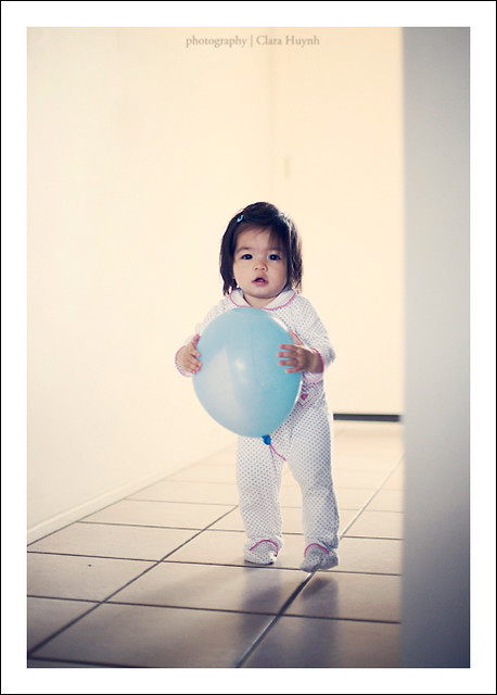 August 14 - Sunday Morning, Pajamas and a Blue Balloon