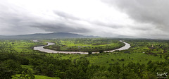 Khandobacha maal panorama (# SPK #) Tags: panorama nature rain landscape july monsoon spk 2011 bhor canon1855is canon550d
