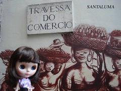 Tabatha passeando pelo centro do Rio!!