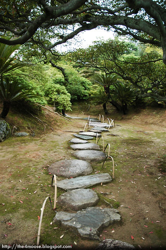 Katsura Rikyū 桂離宮 - Pathway to Sotokoshikake