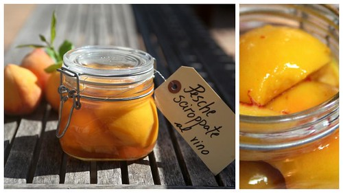 peaches in syrup (peasche sciroppate)