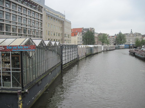 Flower Market on Canal