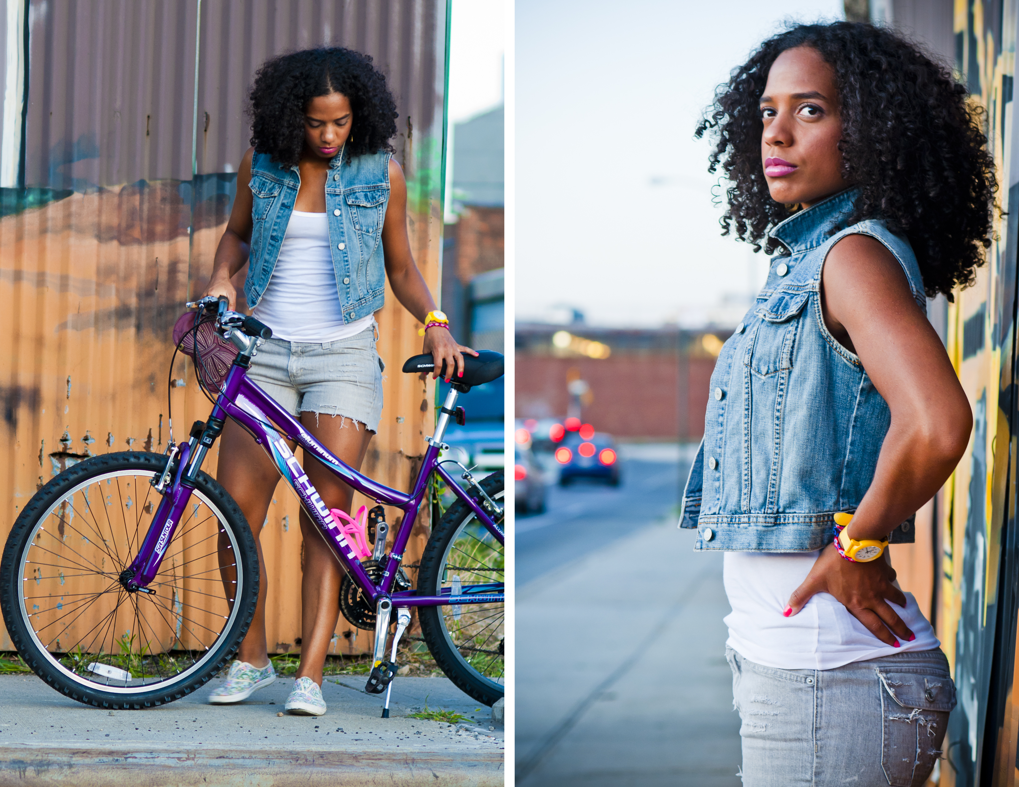 Lorena + Bike Riding