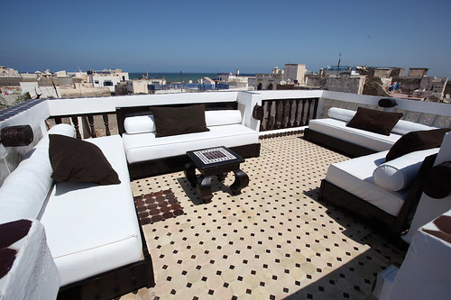 ESSAOUIRA BEST ROOF TERRACE by Coolest Riads Morocco