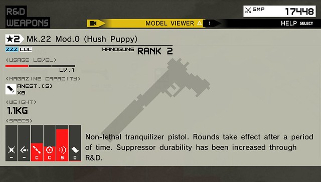 Metal Gear Solid: Peace Walker HD - Mk. 22