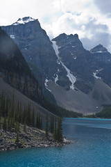 Moraine Lake, Alberta (Banff National Park) (Full Aperture Productions Inc.) Tags: park blue lake mountains green water nikon crystal turquoise rocky hike glacier louise national alberta banff moraine d700 ml20110805
