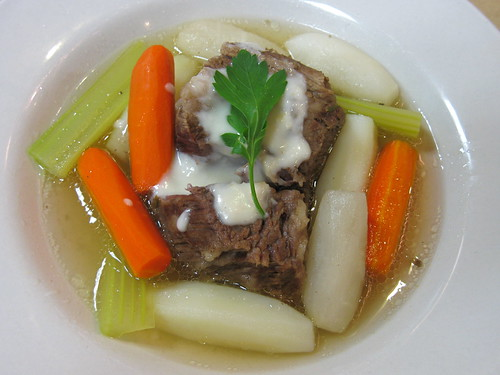 Pot au Feu with Horseradish Sauce