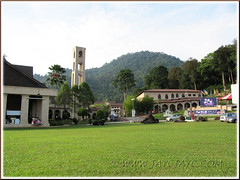 St. Anne sanctuary, Bukit Mertajam: a broader view