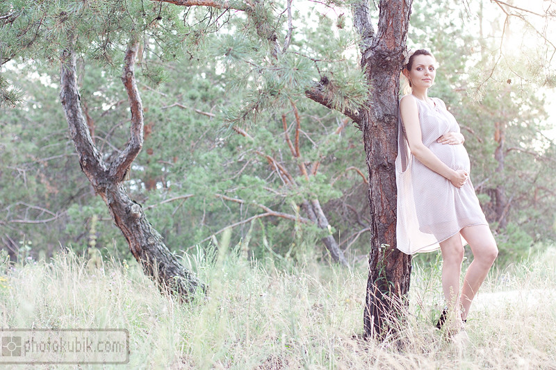 портрет пленэр беременность  Фотосессия беременности