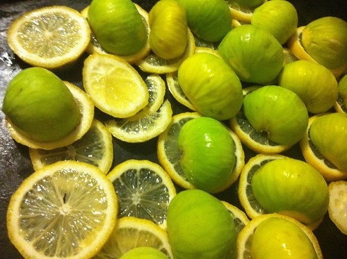 Slow Roasted Figs Preserved With Lemons (Preserving Recipe) Preserving Recipes Lemon Fig
